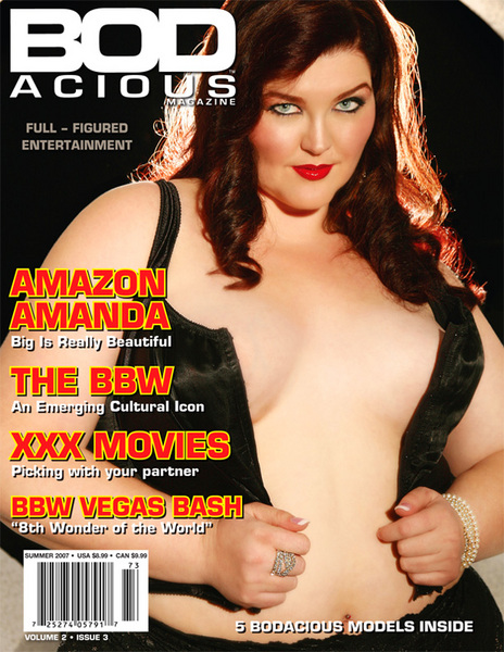 Magazine devoted to the bbw